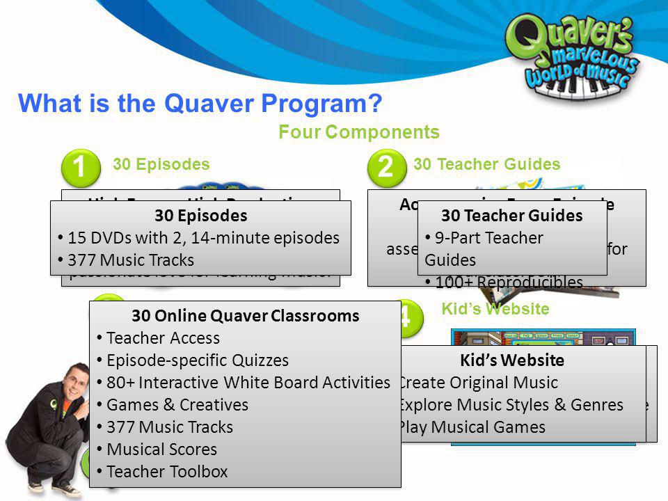What is the Quaver Program.