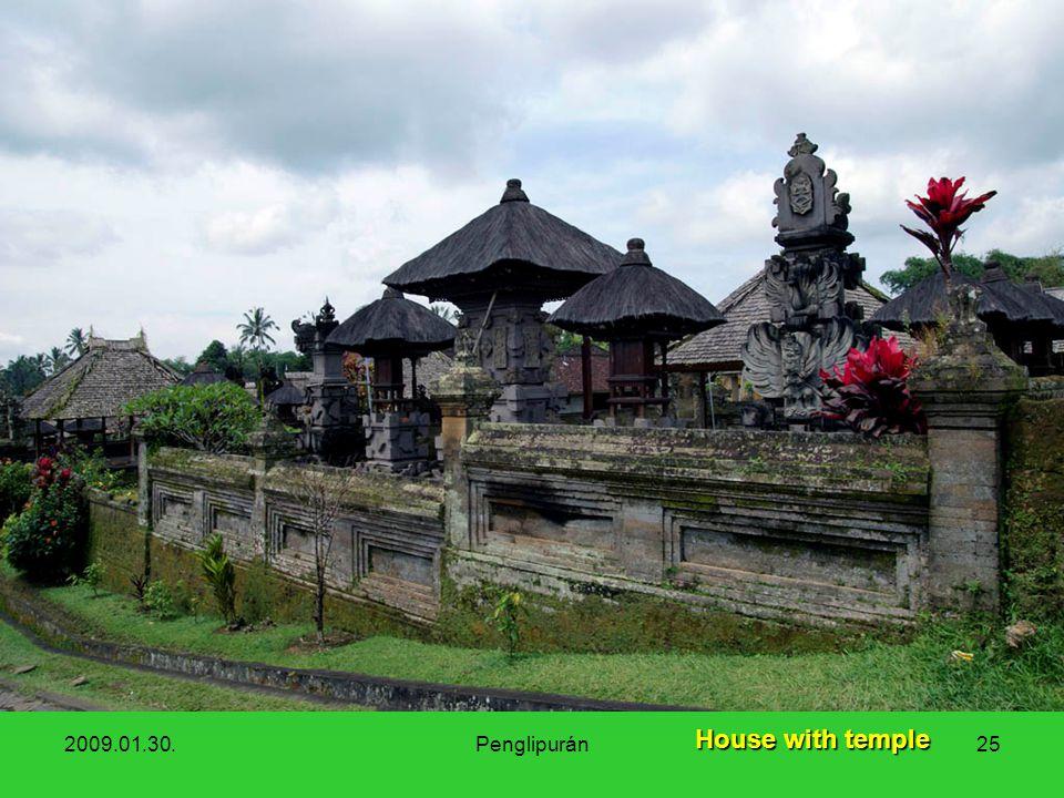 2009.01.30.Penglipurán25 House with temple