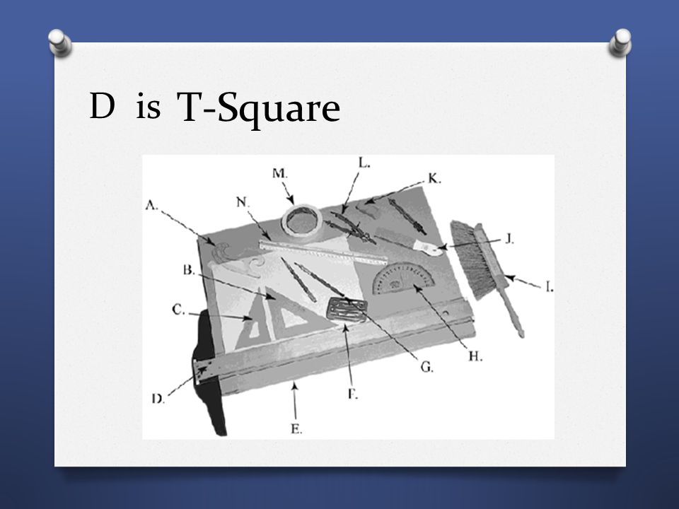 D is T-Square
