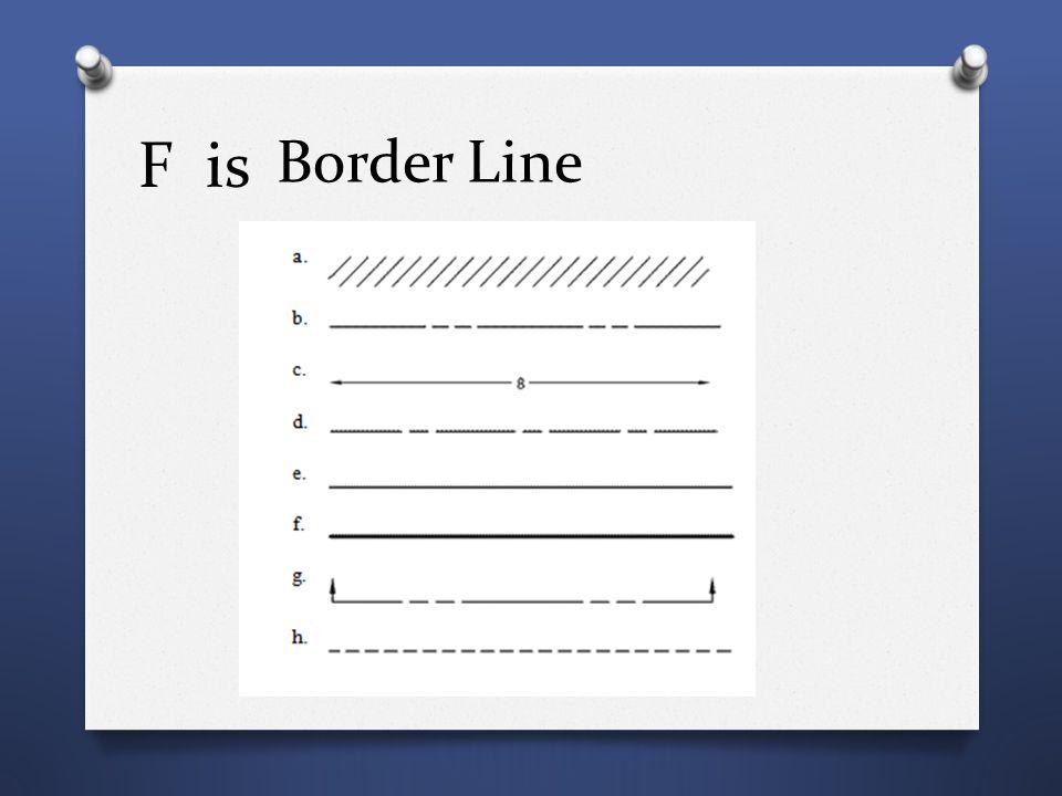 F is Border Line