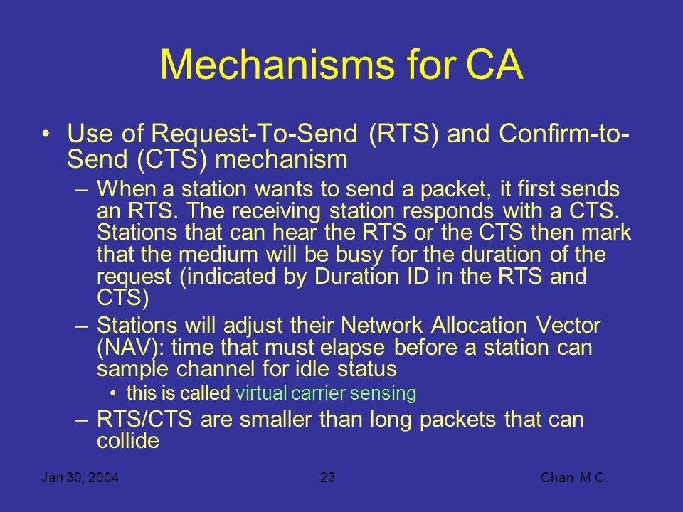 Jan 30, 200423 Chan, M.C.