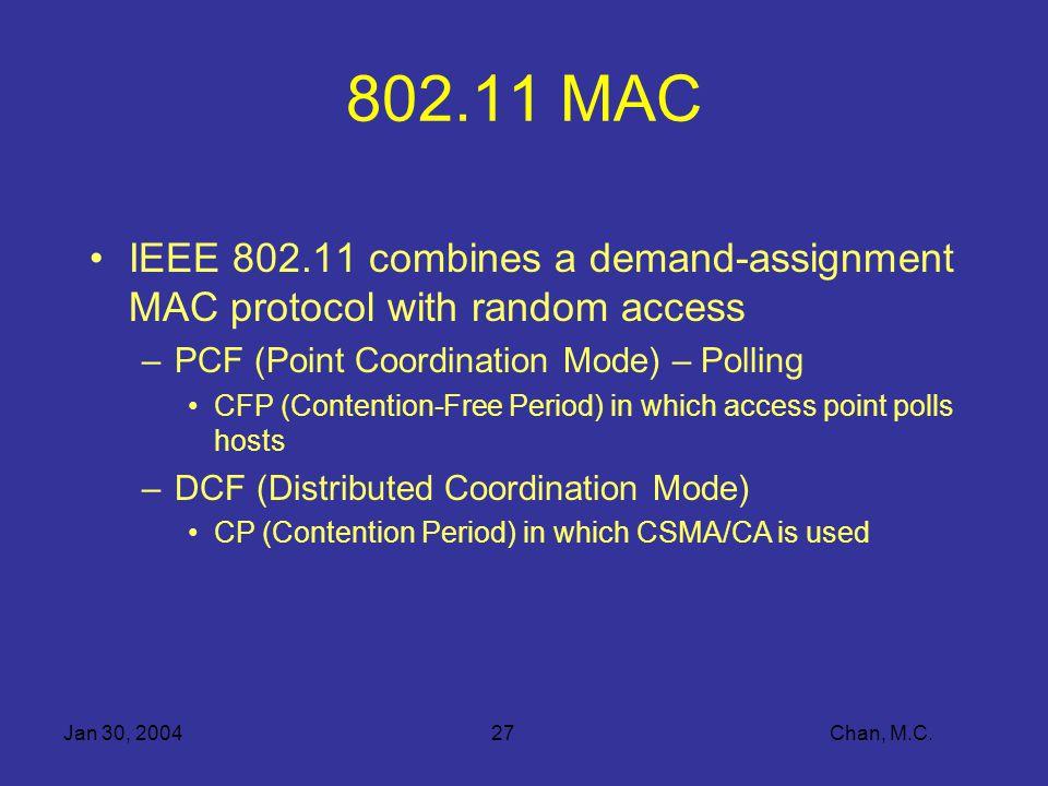 Jan 30, 200427 Chan, M.C.