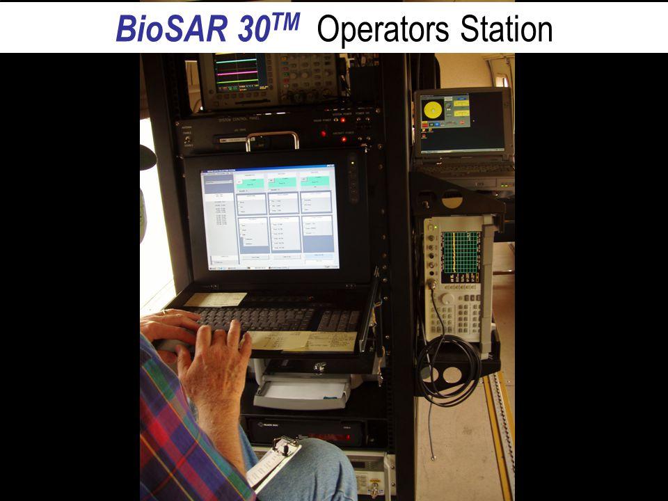 BioSAR 30  BioSAR 30 TM Operators Station