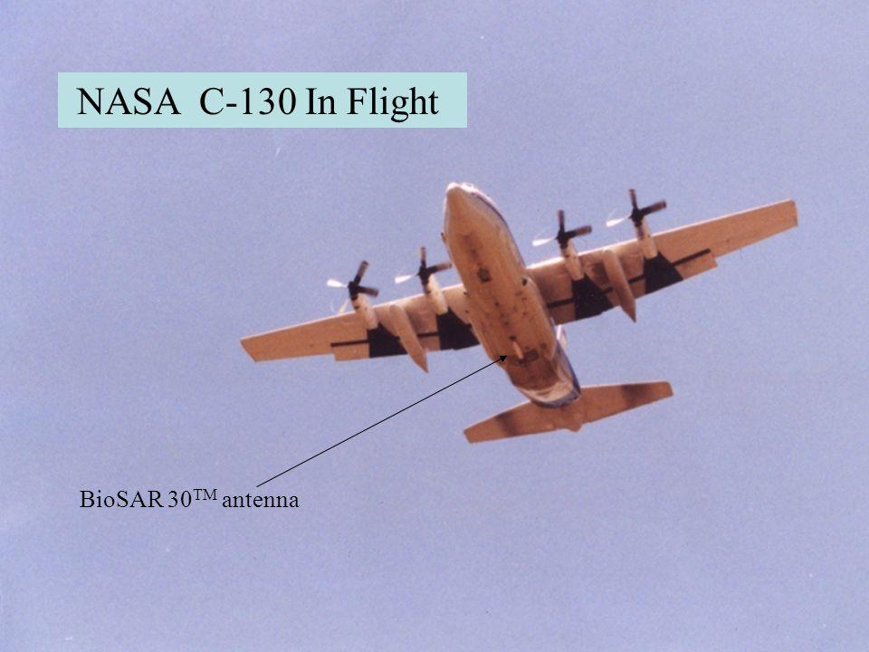 BioSAR 30  NASA C-130 In Flight BioSAR 30 TM antenna