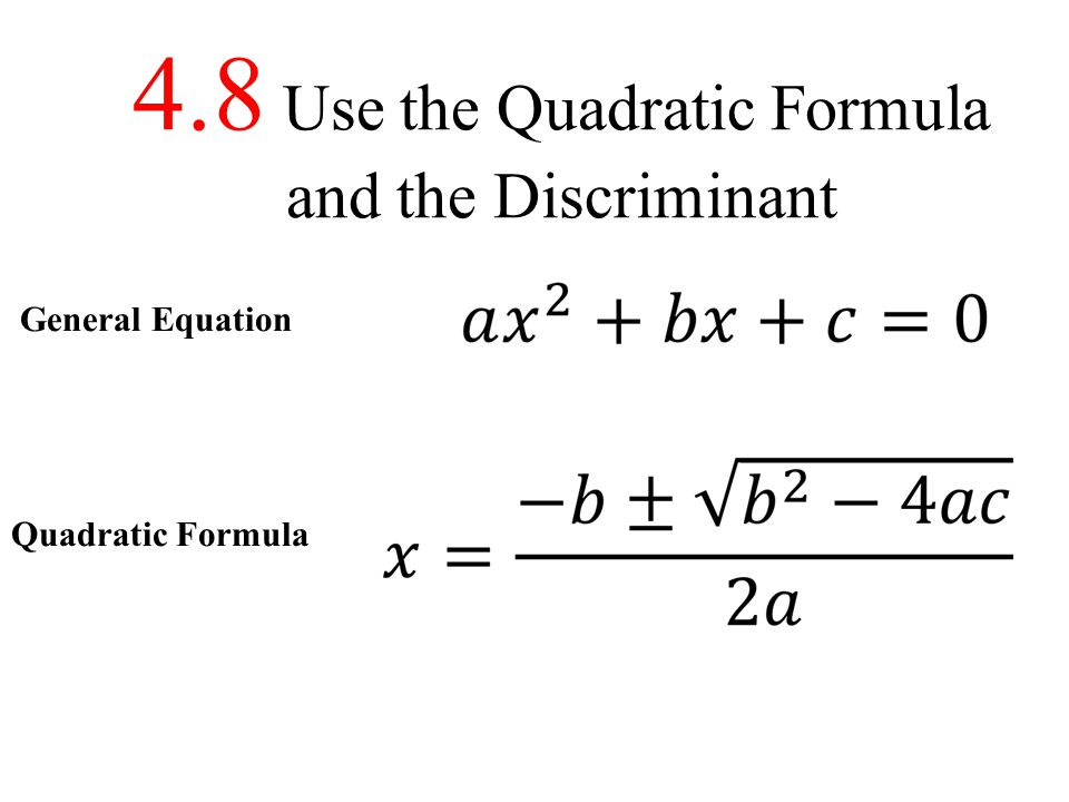 EXAMPLE 1 Solve an equation with two real solutions Solve x 2 + 3x = 2.