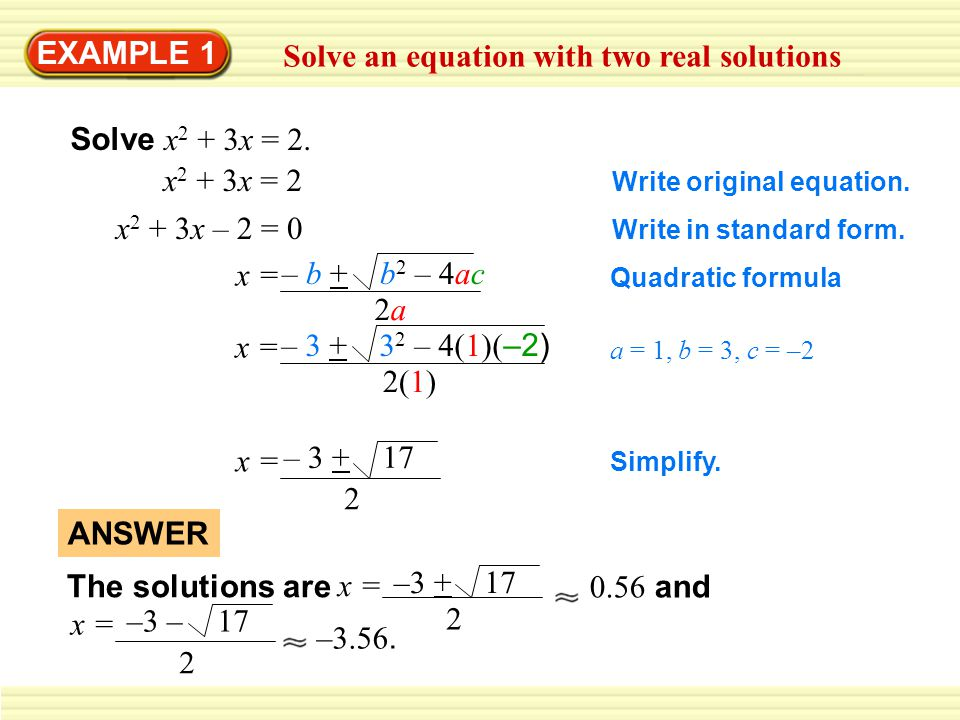 EXAMPLE 1 Graph a quadratic inequality So, (0, 0) is a solution of the inequality.