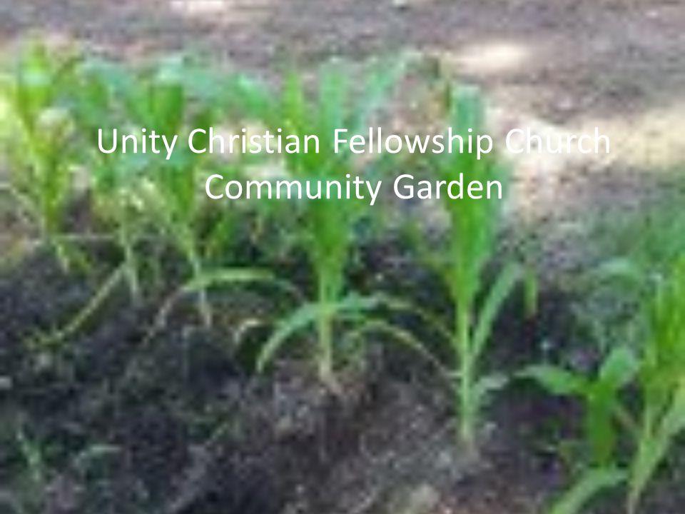 Unity Christian Fellowship Church Community Garden