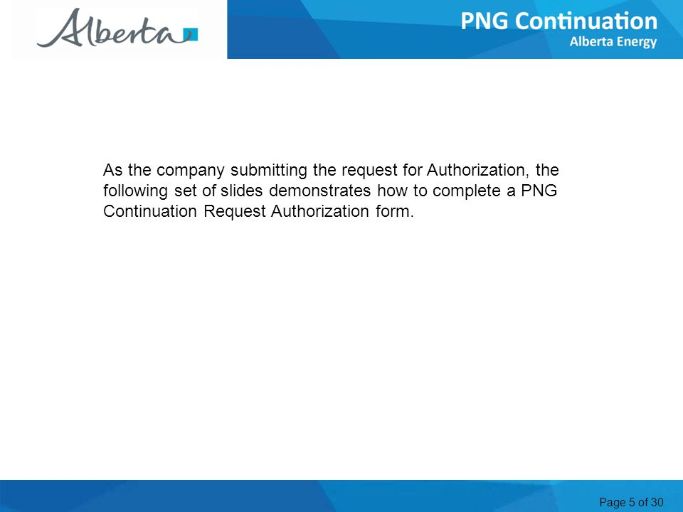 Page 6 of 30 Request Authorization 1.Click Request Authorization 2.
