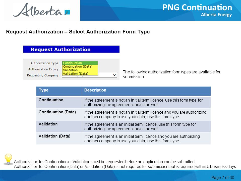 Page 18 of 30 Request Authorization for Data (continued) 4.