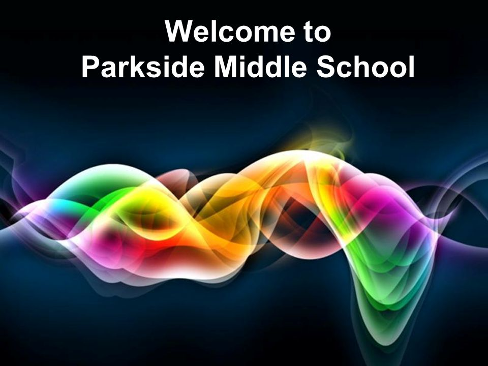 Free Powerpoint Templates Page 1 Free Powerpoint Templates Welcome to Parkside Middle School
