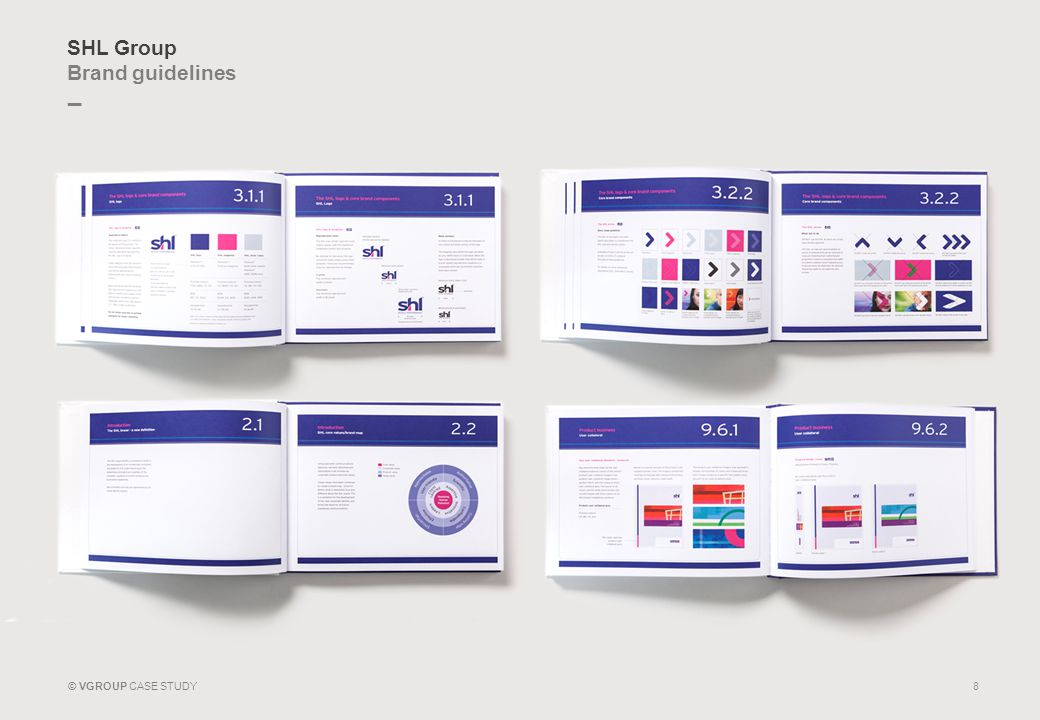 _ © VGROUP CASE STUDY SHL Group Brand guidelines 8
