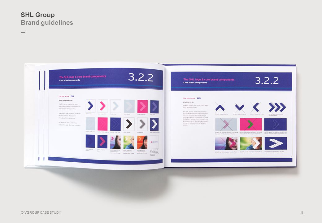 _ © VGROUP CASE STUDY SHL Group Brand guidelines 9