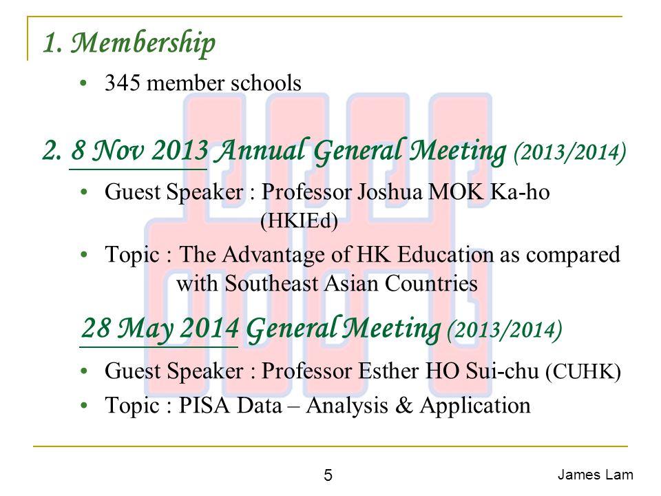 1. Membership  345 member schools 2.