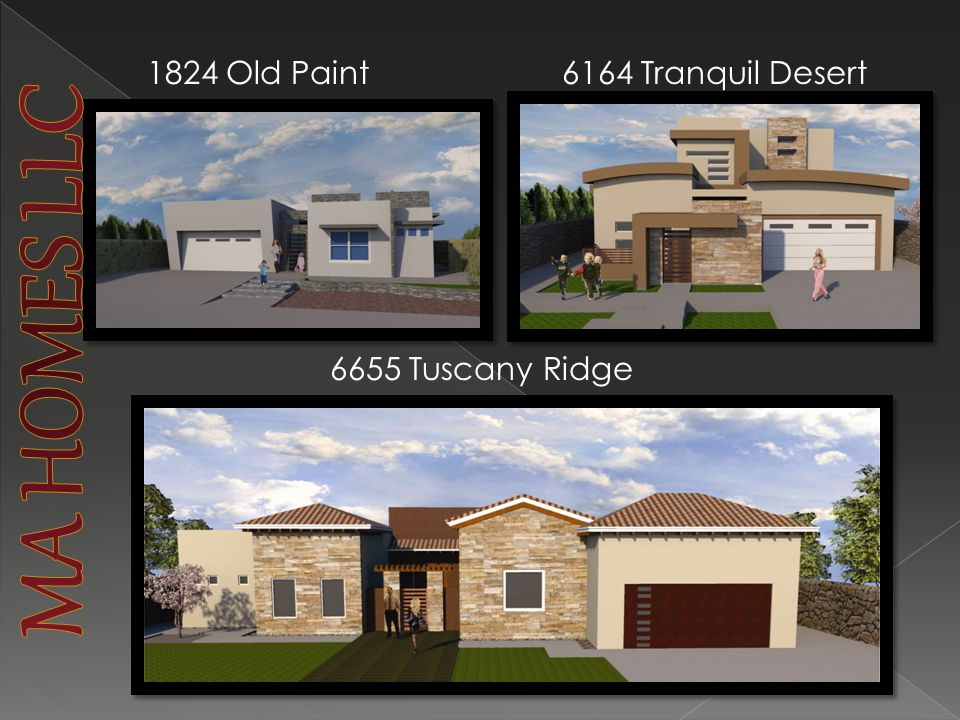 1824 Old Paint6164 Tranquil Desert 6655 Tuscany Ridge