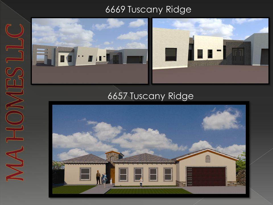 6657 Tuscany Ridge 6669 Tuscany Ridge