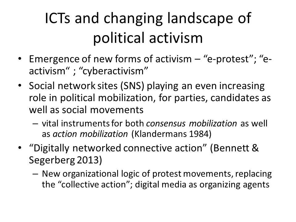 Arab Spring (2010- ) Occupy Wall Street (2011) Los indignados / M15 Movement (2011) …