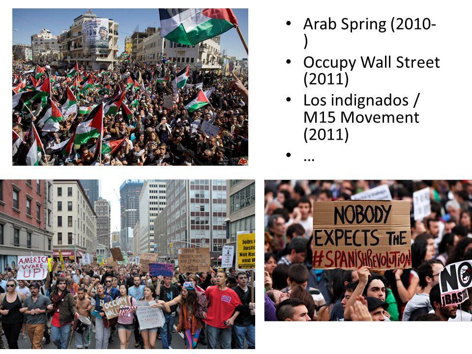 Anti- government protests in Turkey (2013) … … or Bulgaria (2013)