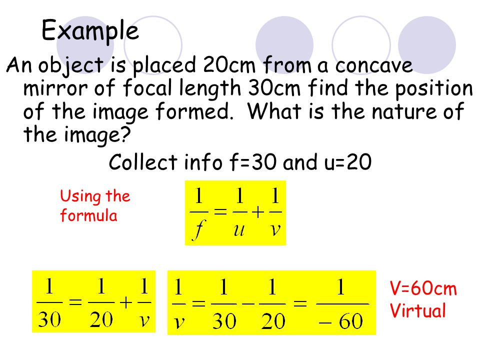 20 Magnification What is the magnification in the last question.
