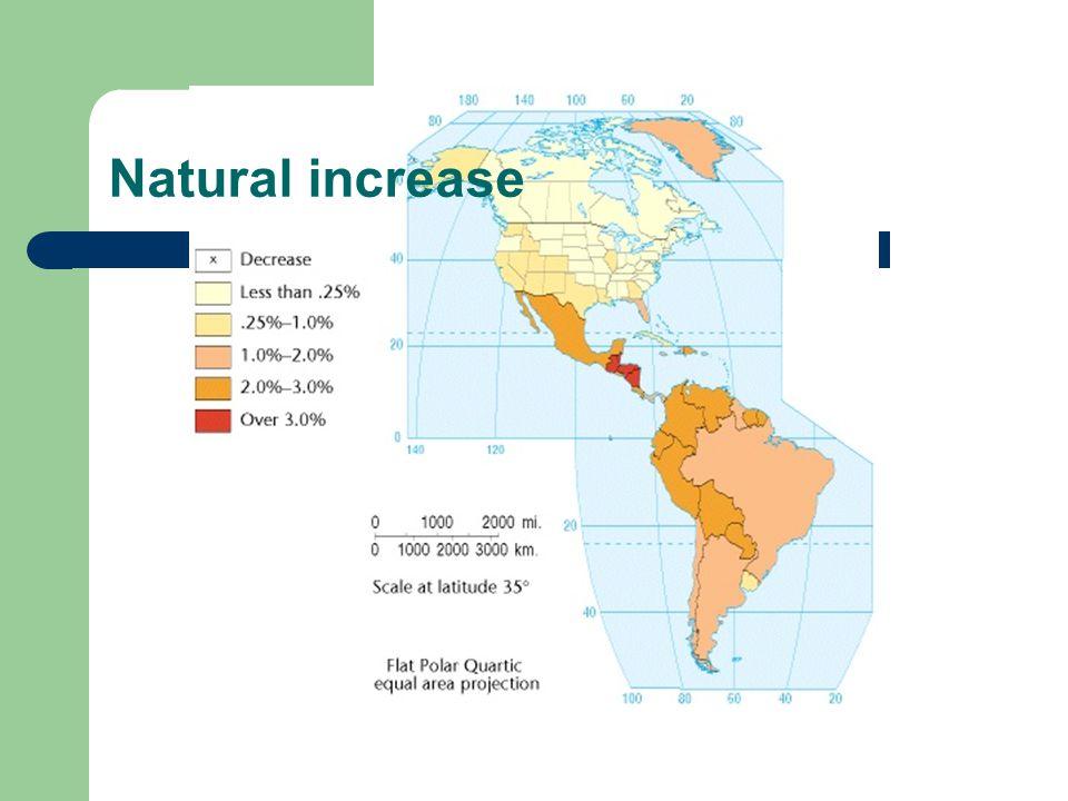 Natural increase