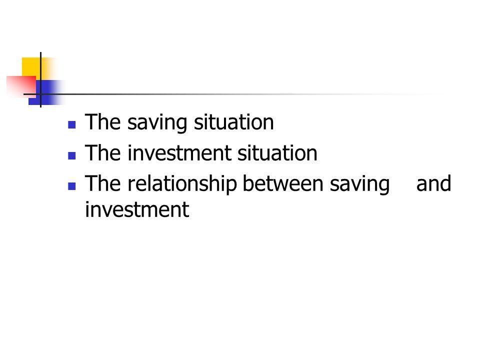 Saving Macroeconomic concept: Y=C+I+G+NX In IS-LM model, I=S saving Government saving Enterprise saving Household saving