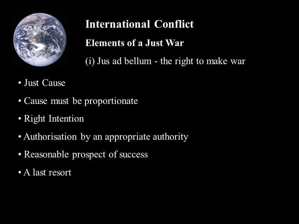 International Conflict The essay component of the exam Pay attention to the context of the question.