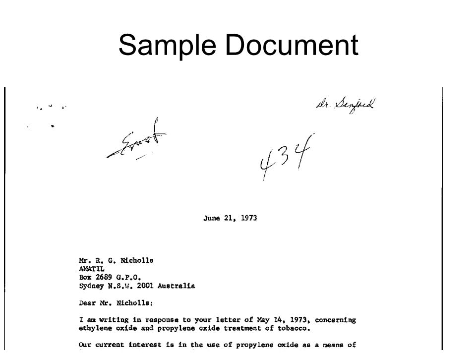 Sample Document