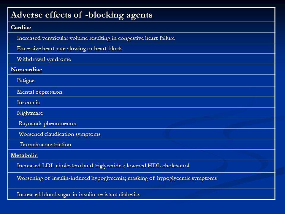 CALCIUM CHANNEL- BLOCKING DRUGS