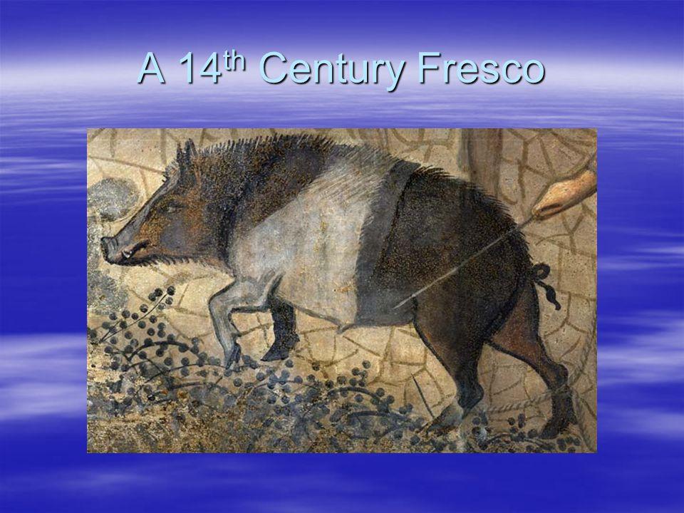 A 14 th Century Fresco