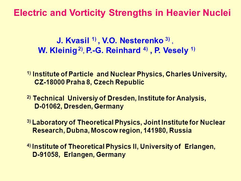 W.Kleinig, V.O. Nesterenko, J. Kvasil, P.-G. Reinhard and P.