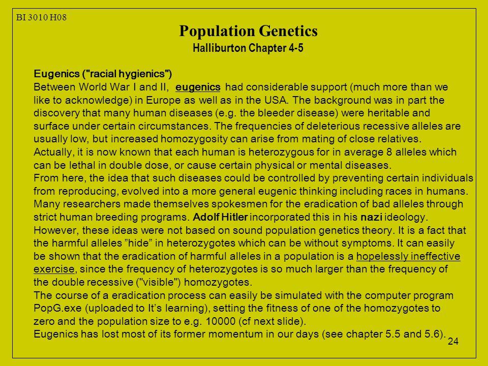 24 Eugenics (