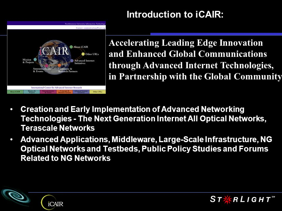 September 26-30, 2005 University of California, San Diego California Institute for Telecommunications and Information Technology [Cal-(IT) 2 ] United States World Of Tomorrow 2005 i Grid 2 oo 5 T H E G L O B A L L A M B D A I N T E G R A T E D F A C I L I T Y Co-Organizers: Tom DeFanti, Maxine Brown