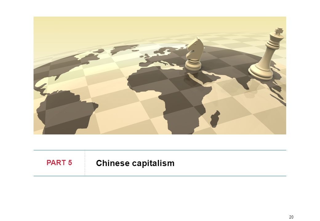 20 PART 5 Chinese capitalism