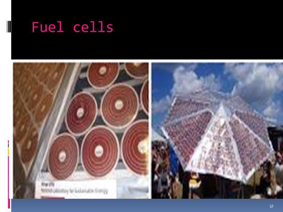 Fuel cells 37
