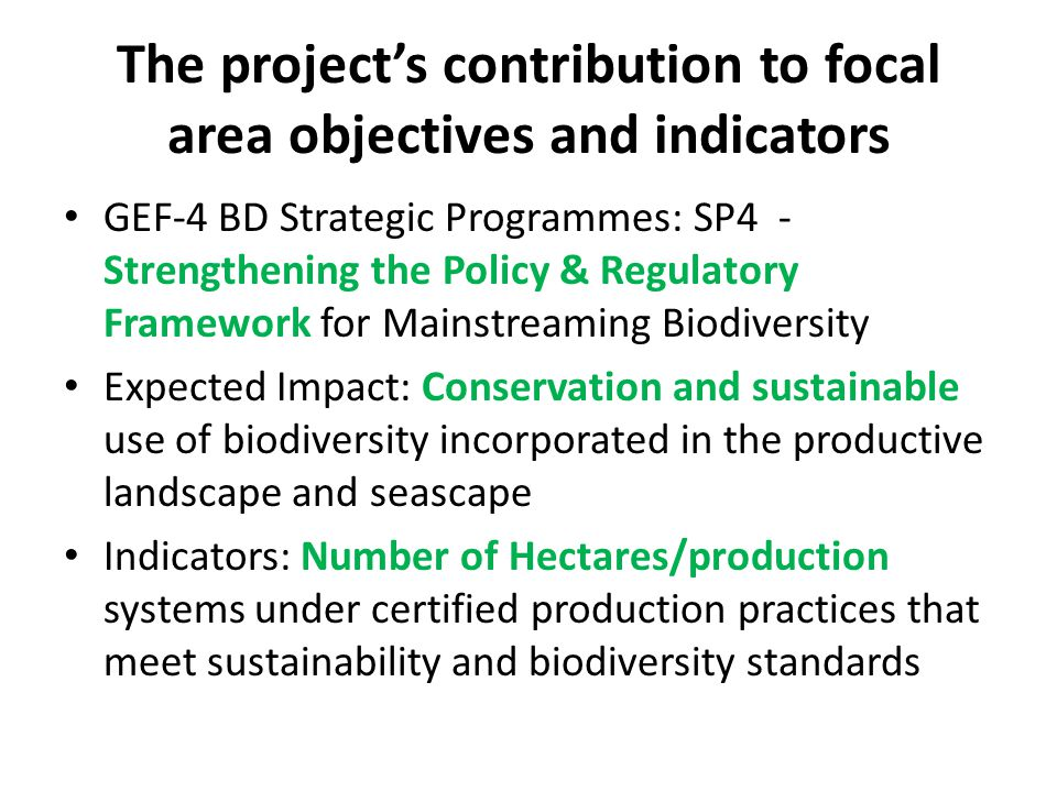 Project Rationale There is a promising, although low baseline of governance, O&G company engagement, and to a lesser extent funding upon which to build.