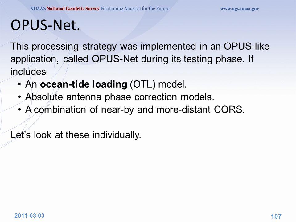 OPUS-Net.