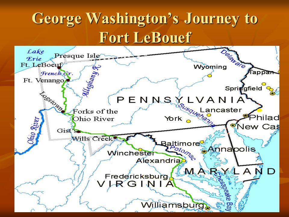 George Washington's Journey to Fort LeBouef