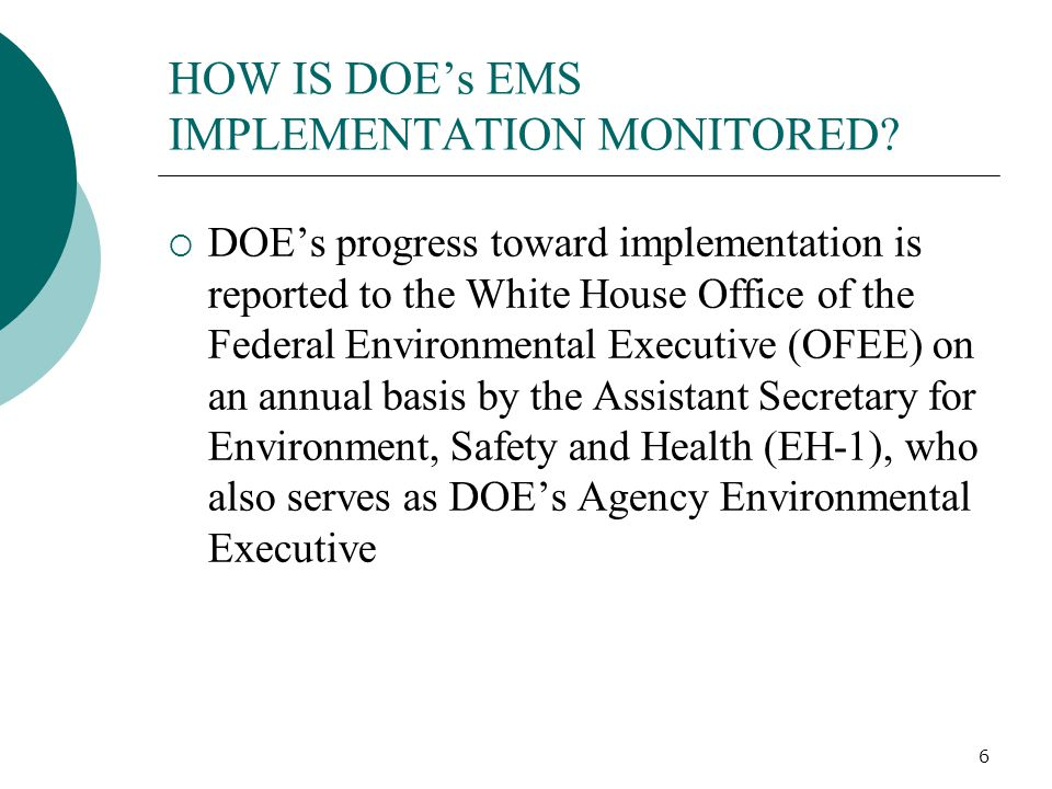 7 WHAT ARE SENIOR MANAGERS' RESPONSIBILITIES PURSUANT TO DOE O 450.1.