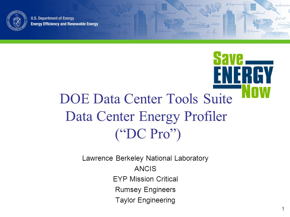 22 Step 10 - Results Quick PEP Case Information Annual Energy Purchases Annual Energy Consumption Potential Annual Energy Savings Suggested Next Steps DC Pro Case Information Data Center Infrastructure Efficiency (DCIE) Annual Energy Purchases Annual Energy Consumption Potential Annual Energy Savings Suggested Next Steps