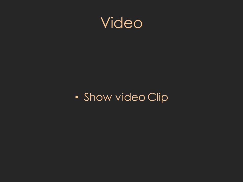 Video Show video Clip