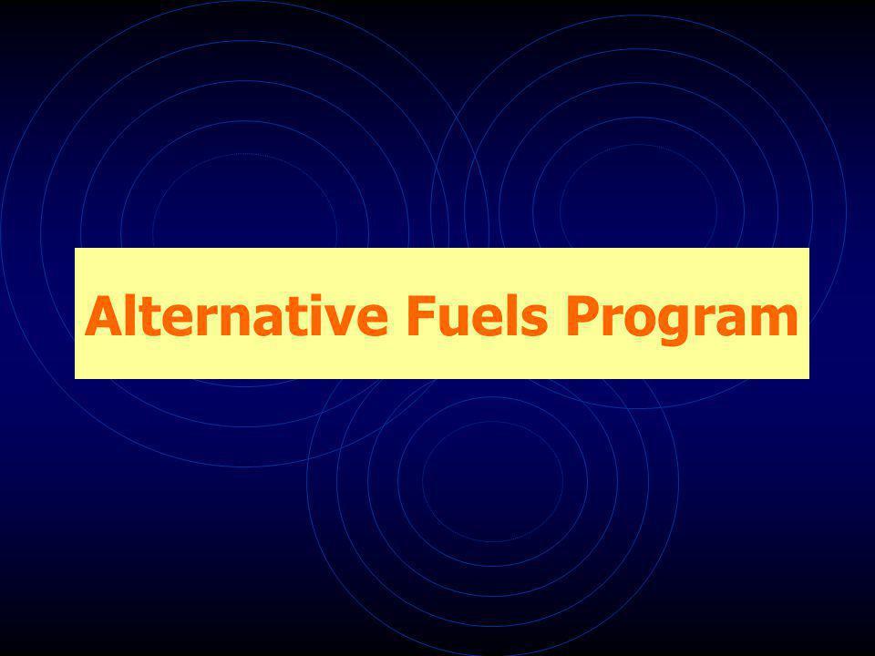 Alternative Fuels Program