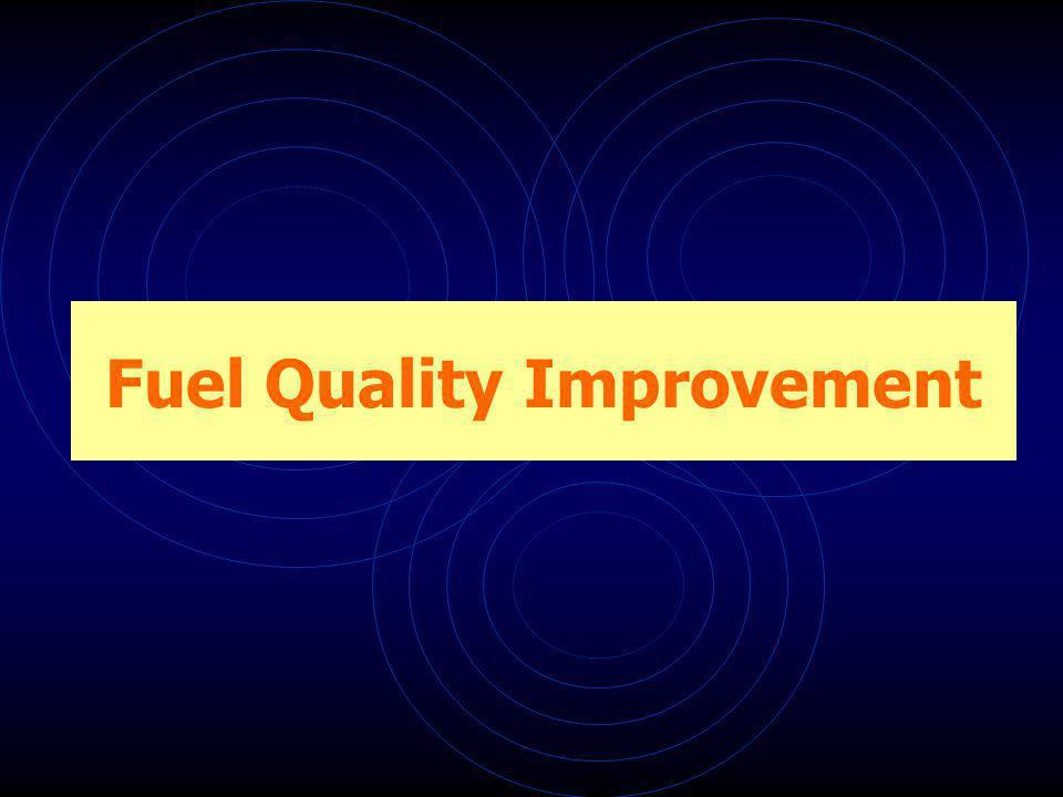 Fuel Quality Improvement