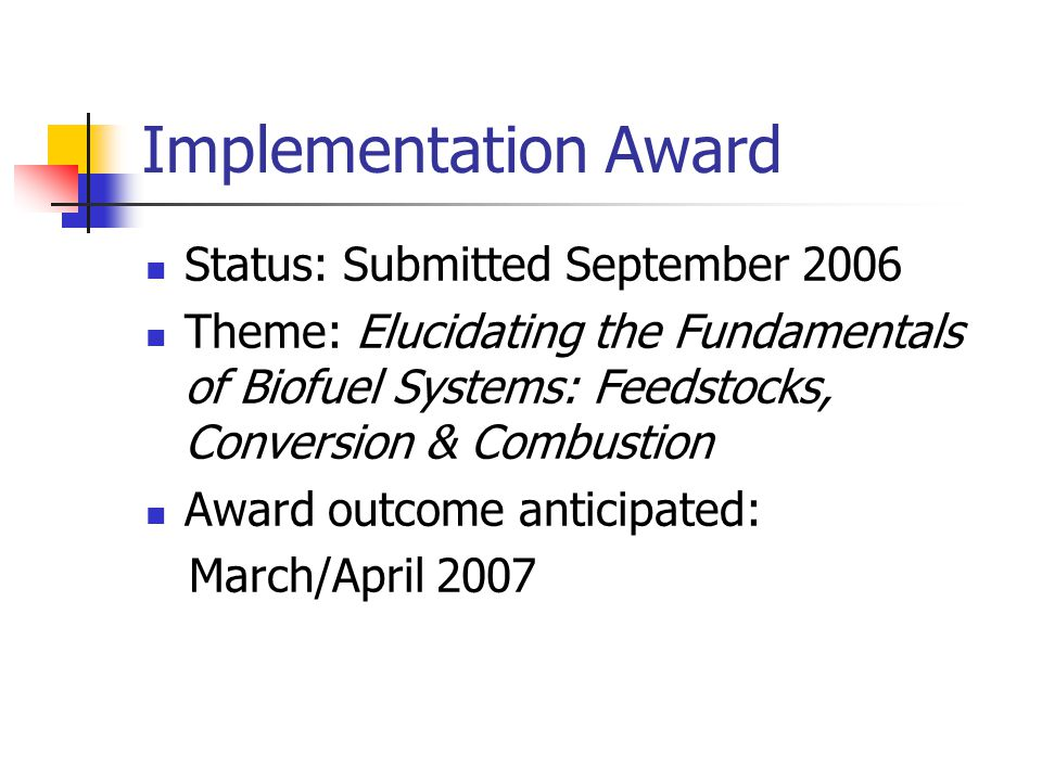 State/Laboratory Partnership Awards Find all submission information at: http://alepscor@ua.edu State Endorsement Letter Answers to six questions due to Alabama DOE EPSCoR office by noon, April 18, 2007 Awards are expected to range up to a maximum of $150,000 annually with terms up to three years
