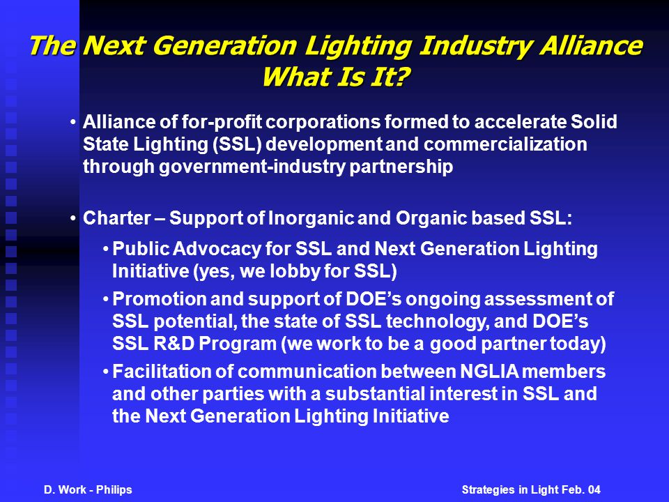D. Work - Philips Strategies in Light Feb.