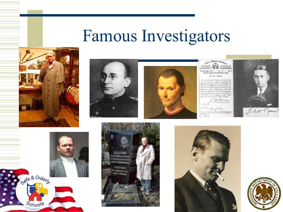 Famous Investigators