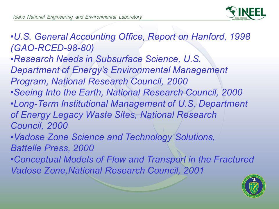 Idaho National Engineering and Environmental Laboratory U.S.