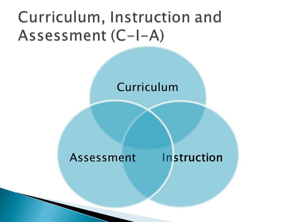 Curriculum Instruction Assessment