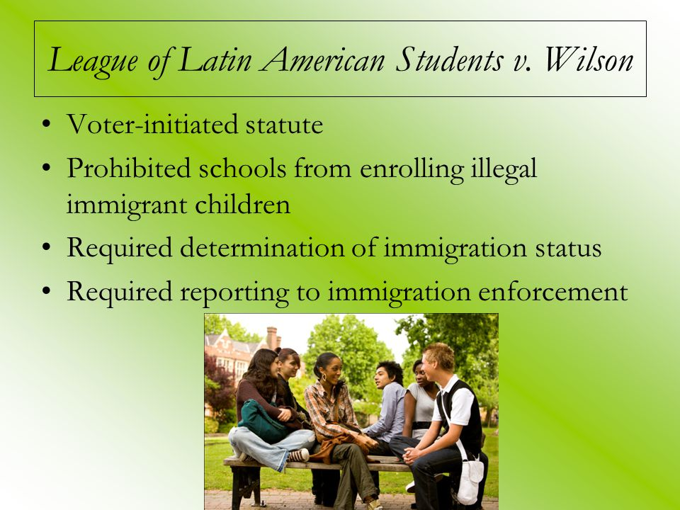 League of Latin American Students v.