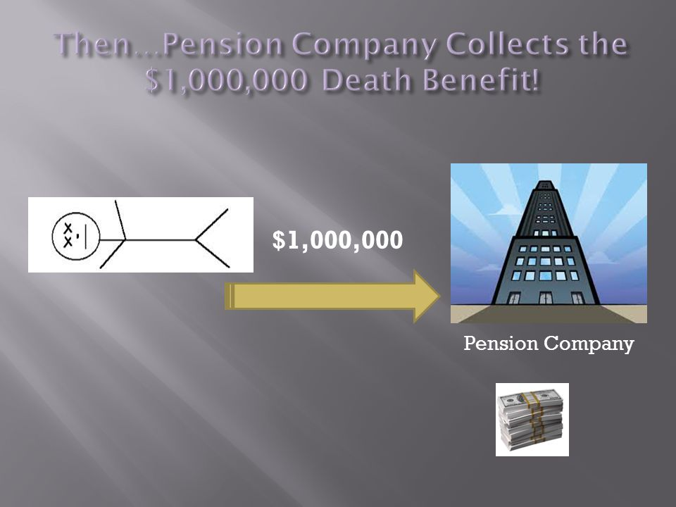 $1,000,000 Pension Company