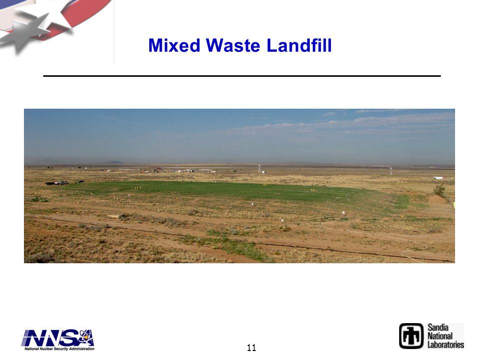 11 Mixed Waste Landfill