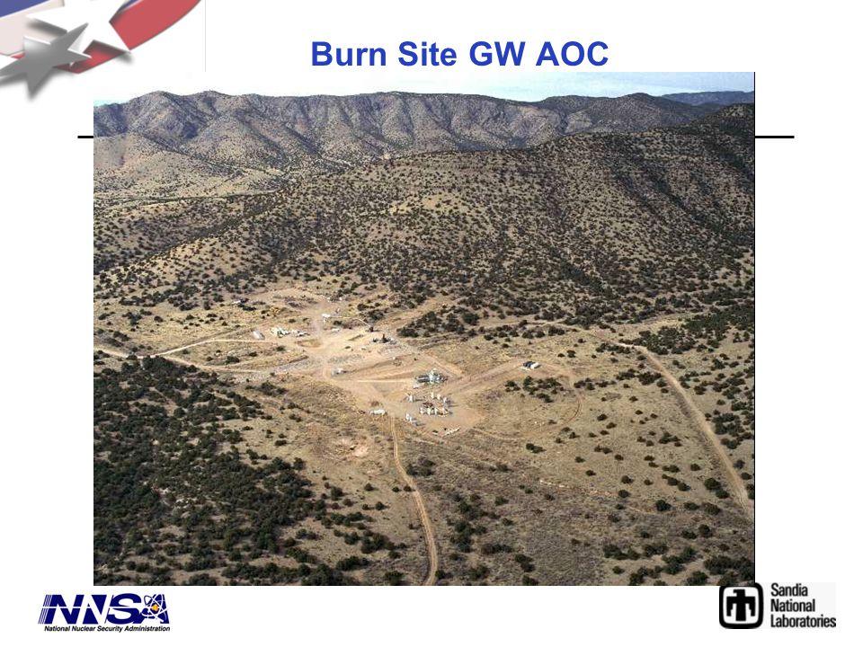 Burn Site GW AOC